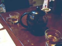Pho Bay's jasmine tea
