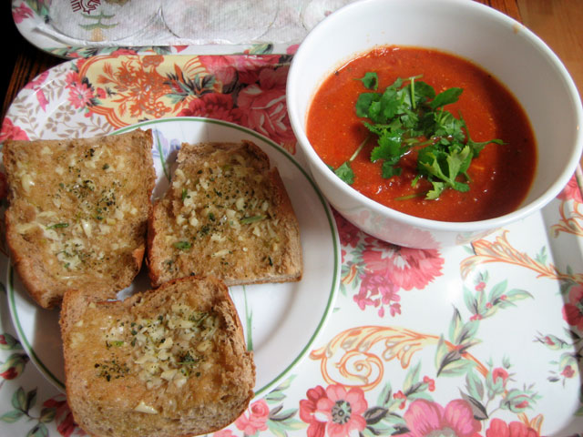 Tomato Cilantro Soup