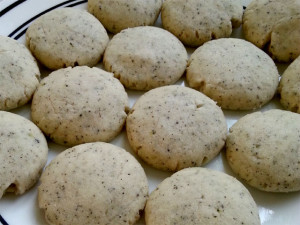 Earl Grey Shortbread (Baked)