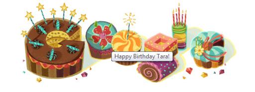 Google Birthday Graphics