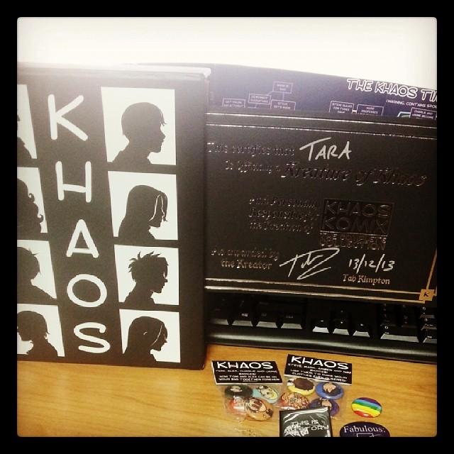 Khaos Komix Kickstarter Goodies