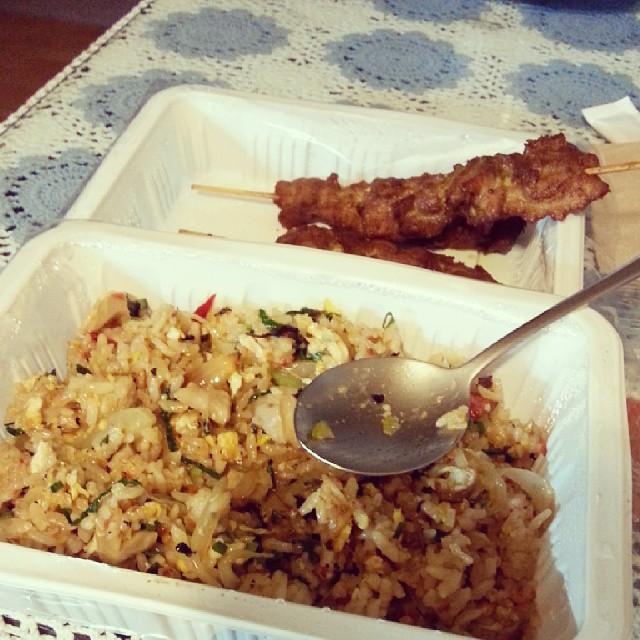 Takeaway from Taste of Thailand