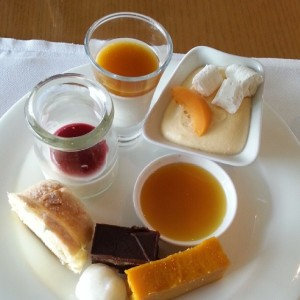 Dessert from the Terrace at the Grand Hyatt Seoul