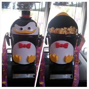 Penguin Popcorn Carrier from Everland