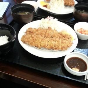 Hirekatsu at Katsuya in Insa-dong