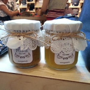 Earl Grey jam and lemon-ginger jam from Purie