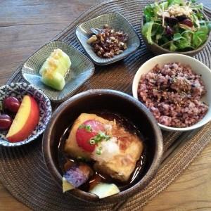 Agedashi Tofu set at Mesiya.