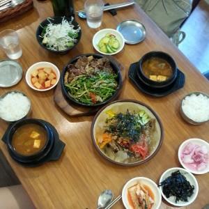 Korean food at Son's Kitchen.