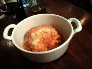 Lasagna at Il Gattino