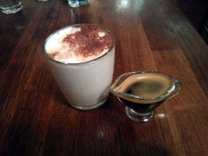 Latte Macchiato without the Espresso