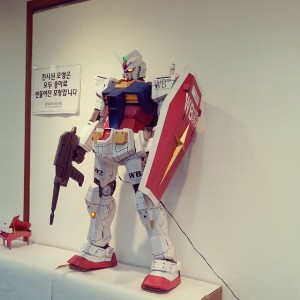 Paper Gundam Model