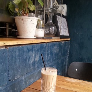 Hell Cafe Iced Latte