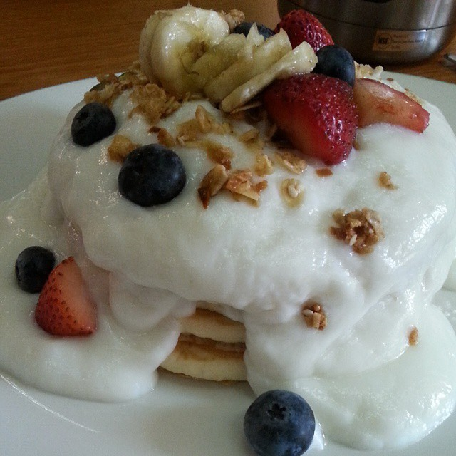 Parfait Pancake from Greenstreet
