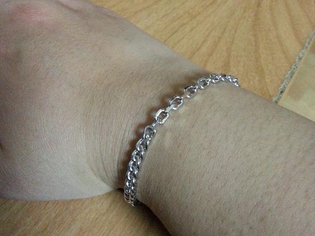 Lloyd Sterling Silver Bracelet