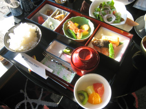 Japanese Breakfast in Hotel Universal Port