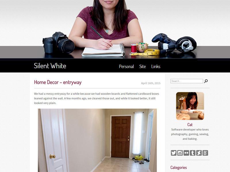 Cat @ Silent-White.com
