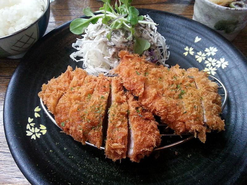 Hirekatsu at Mika Japanese Grill
