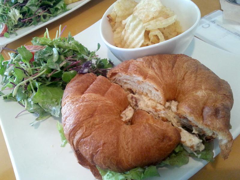 Curried Chicken Sandwich at London Tea