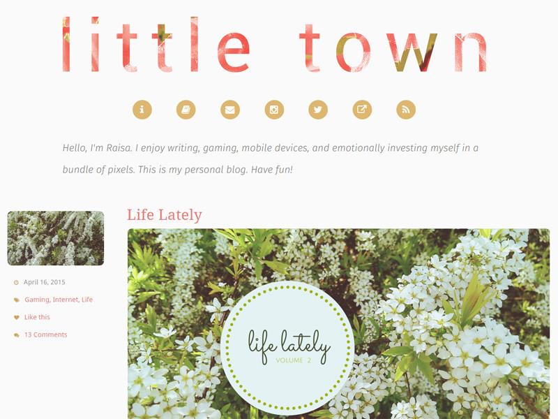 Raisa @ Little Town