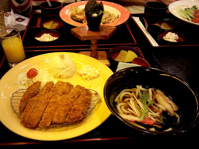 Tonkatsu Set at Mad for Sushi Yaki Banzai
