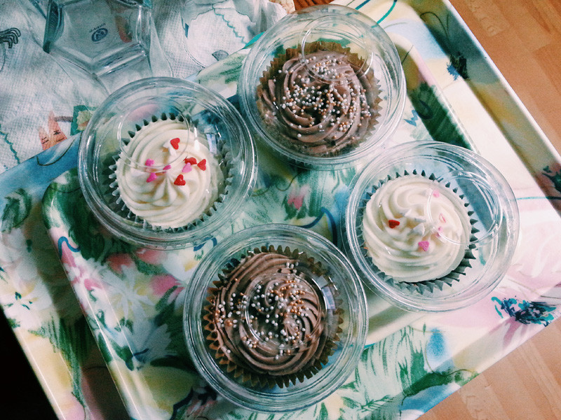 Cupcakes from Fat Cat