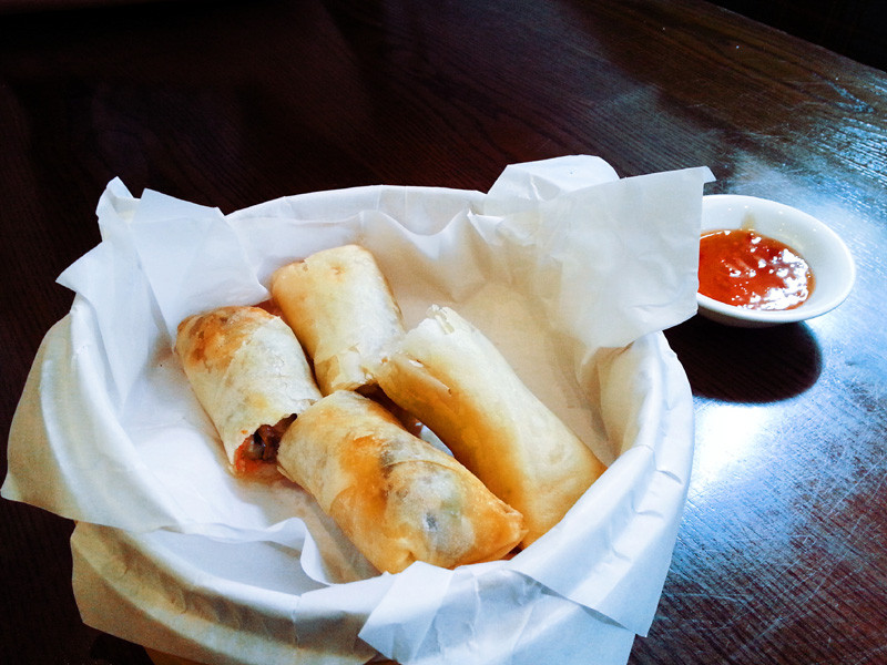 Spring Rolls from Holee Chow