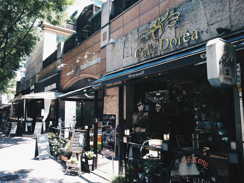 Cafe Street in Bundang