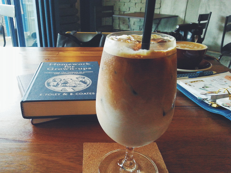 Iced Latte at Coffee & Writer