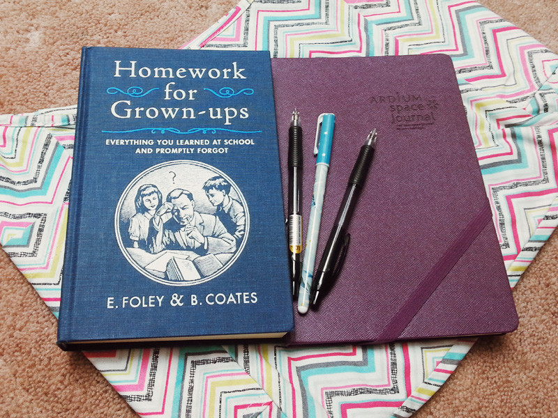 Homework for Grown Up