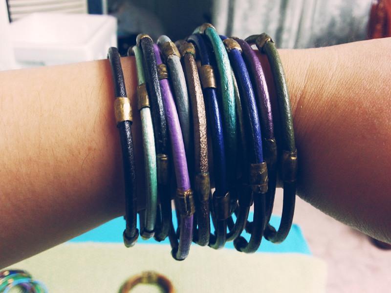 Chloe Bracelets in Earth