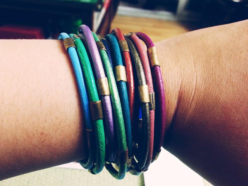 Chloe Bracelets in Gem