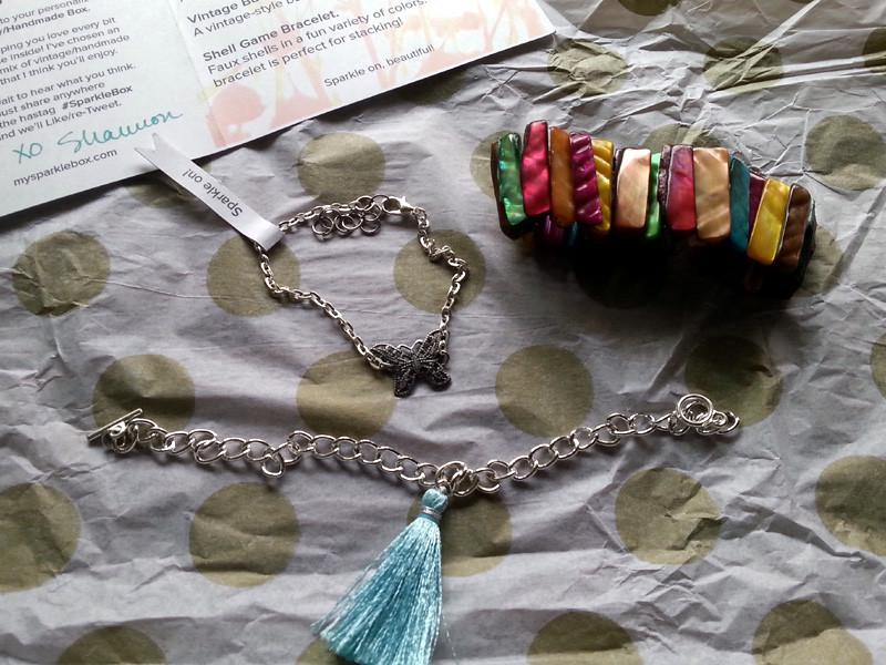 Sparkle Box Bracelets