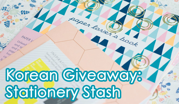 Korean Giveaway: Stationery Stash (Original Image from Callistonian.net)