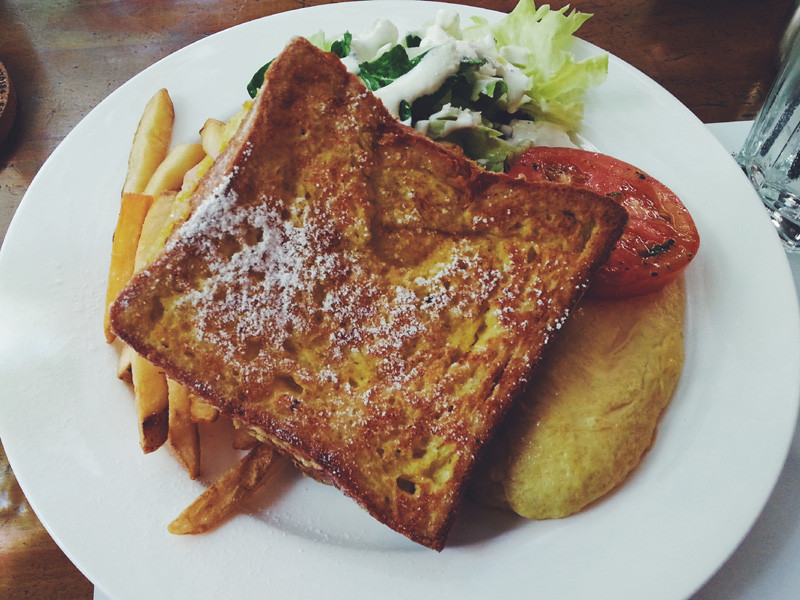 French Toast Brunch Set at Stone Wall Brasserie