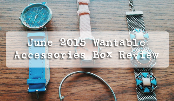 June 2015 Wantable Accessories Box Review
