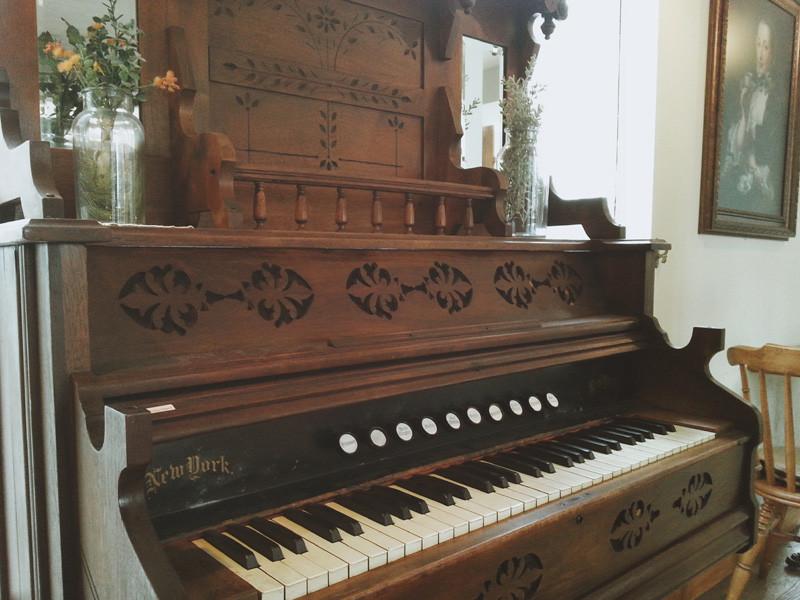 Pedal Organ at Chloris Tea Garden in Sinnonhyeon