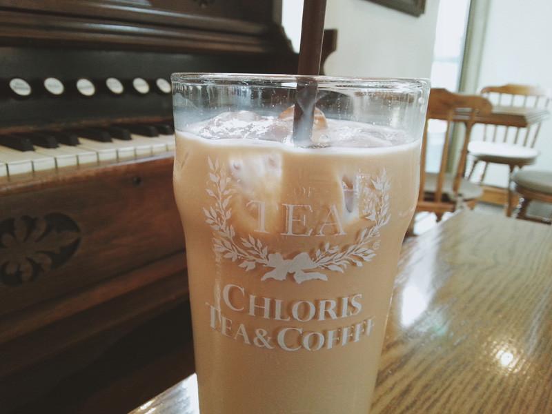 Iced Milk Tea from Chloris Tea Garden in Sinnonhyeon
