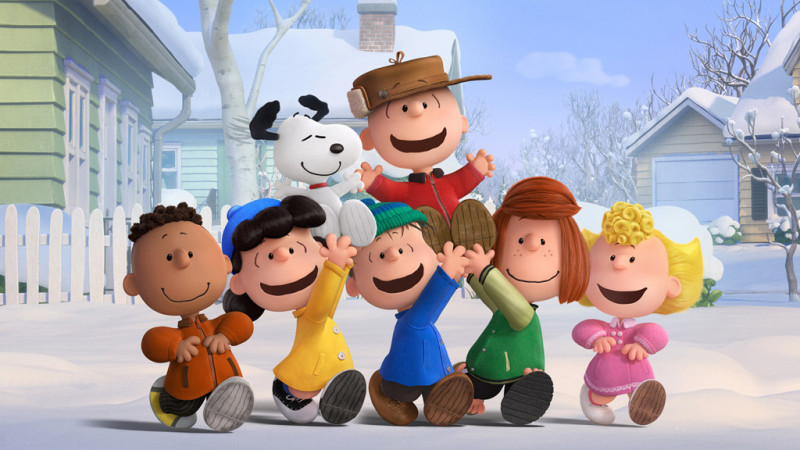 Peanuts Gang from Peanutsmovie.com/