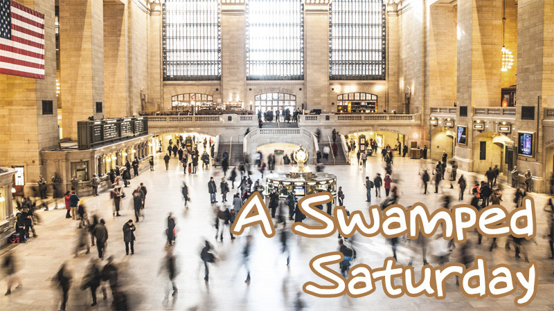 A Swamped Saturday (Photo from Unsplash.com)