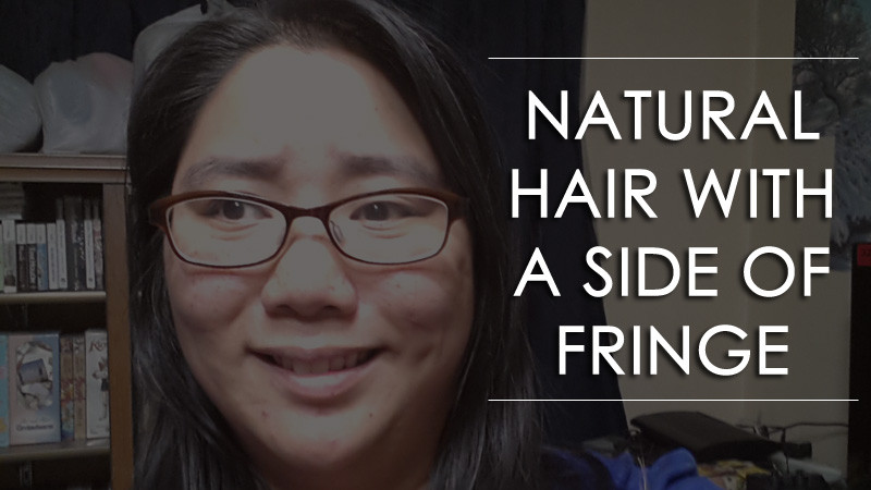 Natural Hair with a Side of Fringe Header