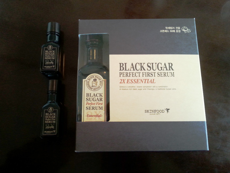 Skin Food Black Sugar Perfect First Serum 2X Essential