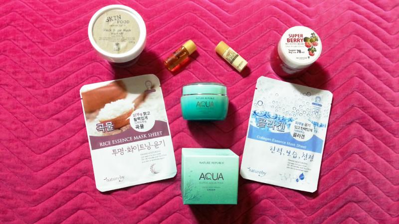 Korean Skincare Stash