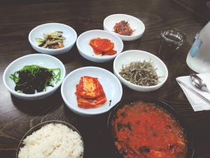Kimchi Jjigae at Gajeongsik Baekban