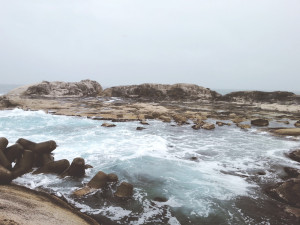 Rocky Area Around Sokcho Lighthouse Observatory