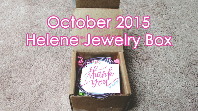 October 2015 Helene Jewelry Box Header Image