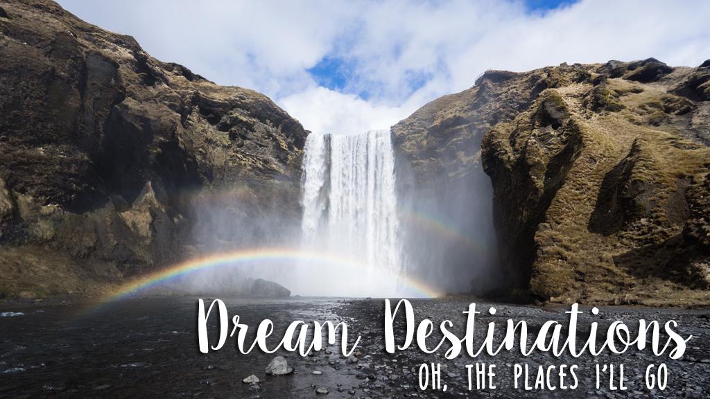 Dream Destinations Header (Original Image from Unsplash.com)