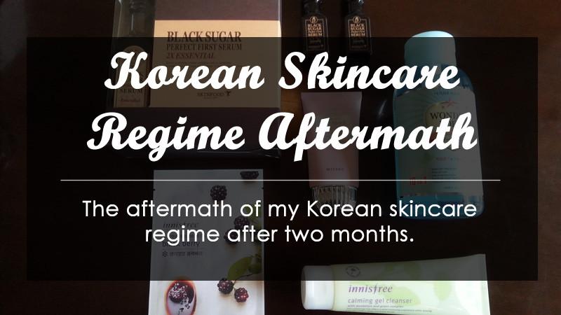 Korean Skincare Regime Aftermath Header