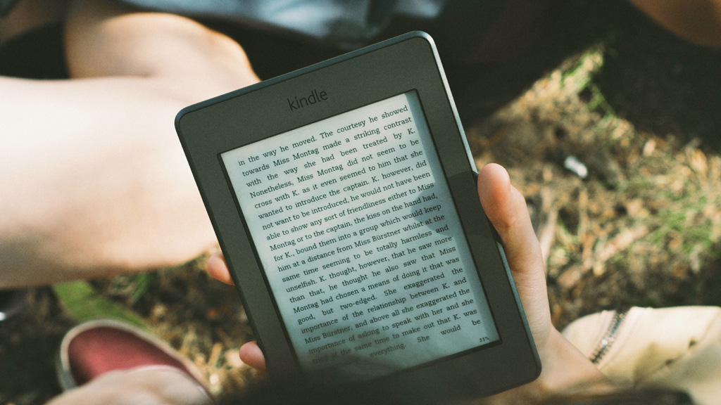 Kindle (Originally from Unsplash.com)