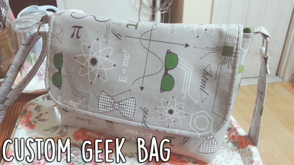 Custom Geek Bag Header