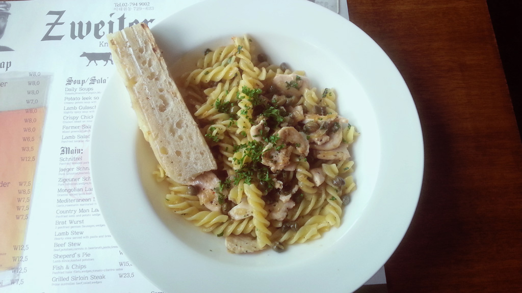 Chicken and Capers Pasta